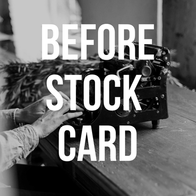 Before Stock Card Theme